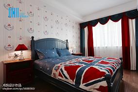 精美美式二居儿童房装修图片大全