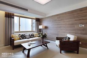 热门面积102平简约三居客厅装修设计效果图片