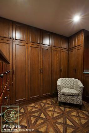 精美138平米美式别墅卧室效果图片大全