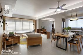 精选103平米三居客厅北欧装修欣赏图片大全