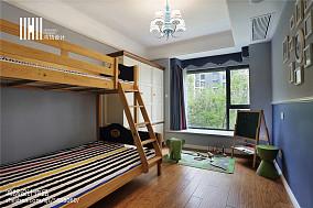 精选122平米四居儿童房美式装修效果图片欣赏
