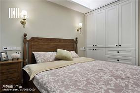 2018精选134平米四居卧室美式装修实景图片