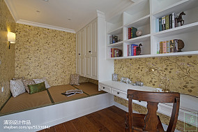 质朴95平美式四居装修图
