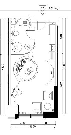 实木双人床收纳设计