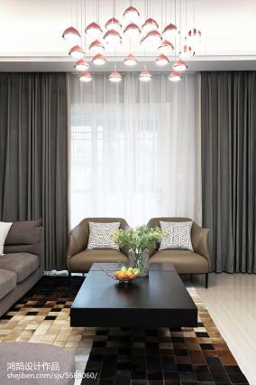 热门122平米现代复式客厅装修图片