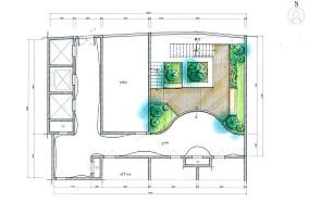 现代复式花园效果图片