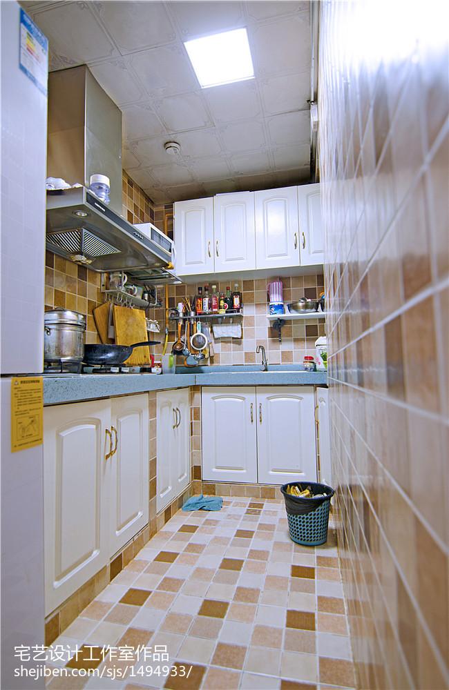 清新地中海风厨房装修图