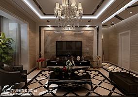 热门70平米二居客厅欧式装修效果图
