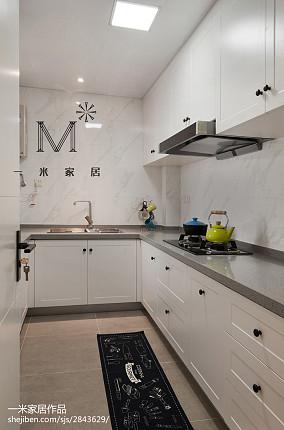 精美面积84平混搭二居厨房装修设计效果图片