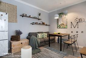 质朴25平北欧小户型客厅设计案例