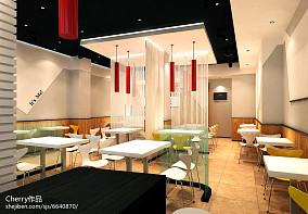 欧式田园客厅餐厅垭口装修效果图