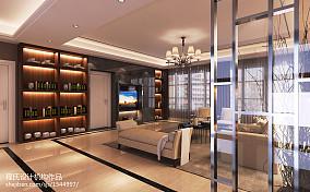 简洁180平现代别墅客厅案例图