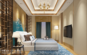 家居美式风格三居室内设计图片