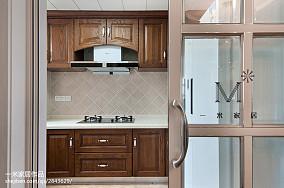 大气68平美式二居厨房美图