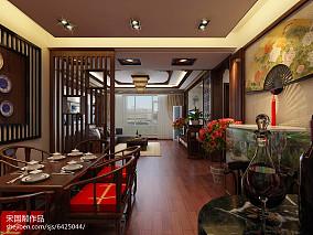 2018精选142平米四居餐厅中式装修效果图片