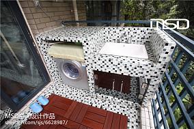 精美113平米现代别墅卫生间装修实景图片大全