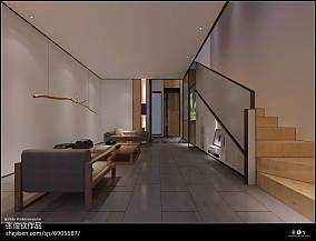 双拼别墅装修设计走廊图片