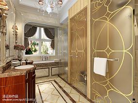 别墅装修设计-金舍装饰-天山九峯290平米装修效果图-欧式风格_2353350