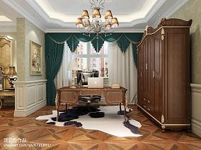 别墅装修设计-金舍装饰-天山九峯290平米装修效果图-欧式风格_2353354