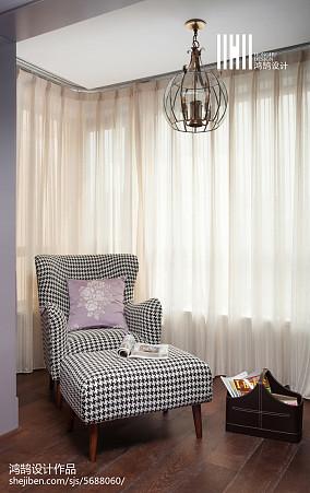 2018精选104平米三居卧室美式设计效果图