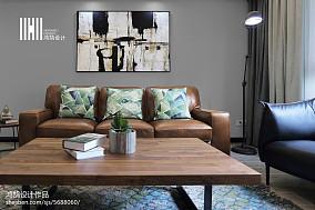 热门大小98平简约三居客厅装修实景图片大全
