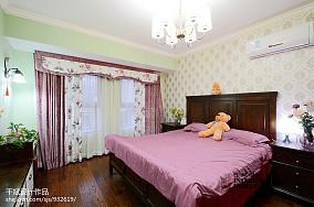 2018美式小户型卧室欣赏图片