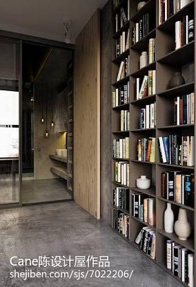书房书柜电脑桌