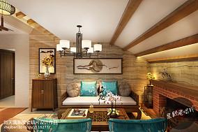 精选复式休闲区东南亚装修设计效果图片大全