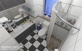 北欧阳光卫生间设计效果图