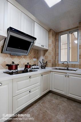 热门美式二居厨房欣赏图