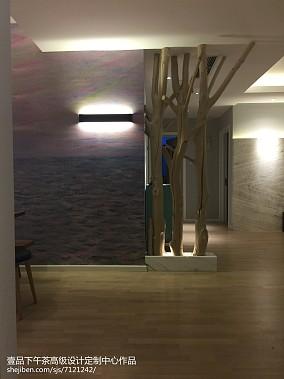 现代两室两厅客厅餐厅图片