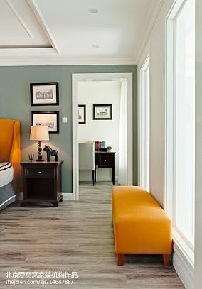 精美面积93平欧式三居卧室装修图片大全