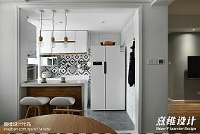 精选复式厨房北欧装修实景图片