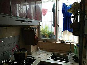 热门小户型厨房田园实景图片