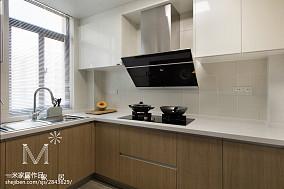 2018107平米三居厨房现代欣赏图片