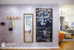 北欧风格照片墙设计效果图