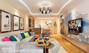 现代小居室内效果图