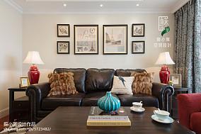 雅致美式风格照片墙设计