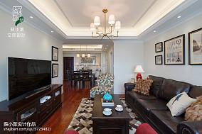 简约美式风格客厅装修案例