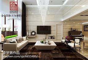 热门111平米四居新古典装饰图片