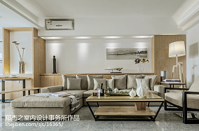 201881平米二居客厅现代装修图