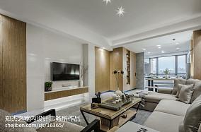 201871平米二居客厅现代装饰图片欣赏