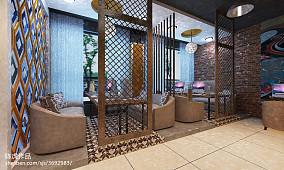 室内青砖墙设计
