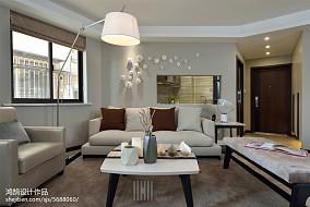 精选大小100平简约三居客厅效果图片欣赏