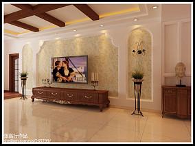 典雅93平方三室一厅效果图