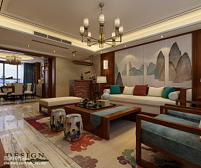中式外国小别墅效果图