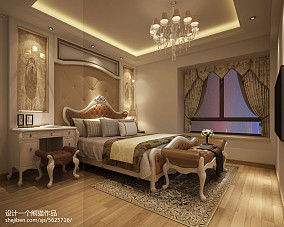 3室2厅2卫装修效果图时尚客厅设计