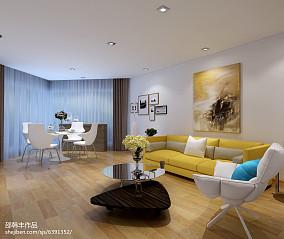 精选一居客厅装饰图