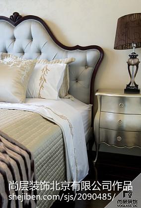 精美面积123平别墅卧室新古典装修图片
