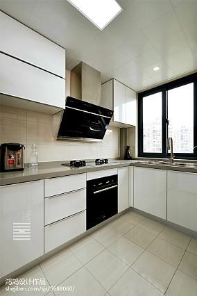 热门101平米三居厨房简约装修效果图